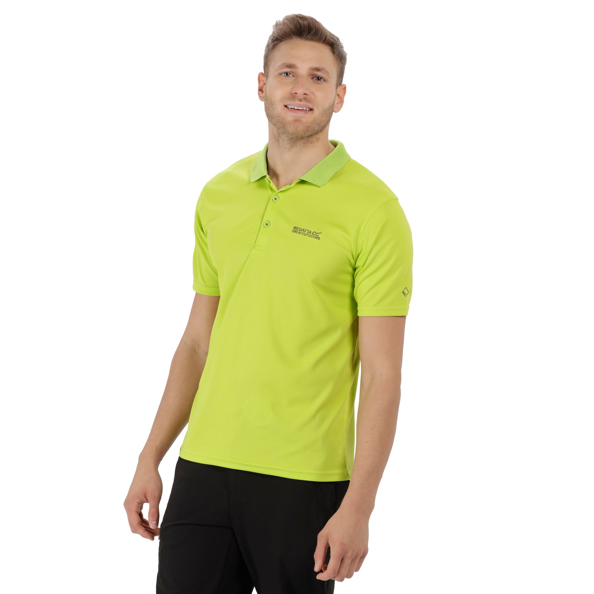 Regatta Polo Shirt Maverick Iv Lime Green